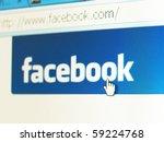 london   august 16  facebook... | Shutterstock . vector #59224768