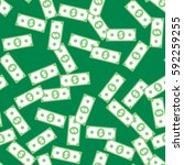 Dollar Banknote Seamless...