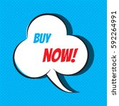 comic speech bubble with phrase ... | Shutterstock .eps vector #592264991
