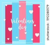 valentines day    Shutterstock .eps vector #592280579