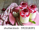 traditional  italian delicious... | Shutterstock . vector #592318391