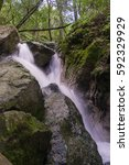 Waterfall In Sugarloaf Ridge...