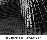 a wall of black mosaic in the... | Shutterstock . vector #59234167