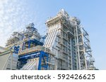 heat recovery steam generators  ... | Shutterstock . vector #592426625