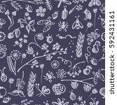 seamless raster pattern ... | Shutterstock . vector #592431161