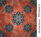 vector illustration. vector... | Shutterstock .eps vector #592446671
