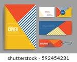 branding identity template... | Shutterstock .eps vector #592454231