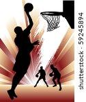 basketball | Shutterstock .eps vector #59245894