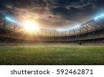 soccer field | Shutterstock . vector #592462871