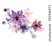Cute Watercolor Hand Painted...