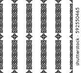 celtic knot seamless pattern | Shutterstock .eps vector #592550465