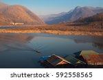 mae ping national park in li... | Shutterstock . vector #592558565