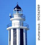 Lighthouse Closeup In Taiwan