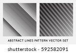set of diagonal oblique edgy... | Shutterstock .eps vector #592582091