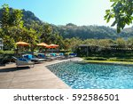phuket  thailand   apr 15  2016 ... | Shutterstock . vector #592586501