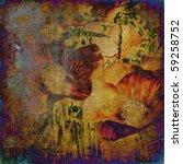 Art  Poppy Vintage Colorful...