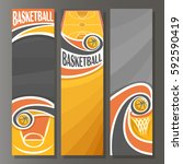 vector vertical banners for... | Shutterstock .eps vector #592590419