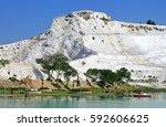 Lake And Calcified Limestone...