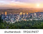 Downtown Portland  Oregon At...
