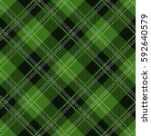 tartan seamless vector patterns ... | Shutterstock .eps vector #592640579