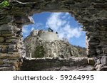 A Ruins Fort Is Seen From...