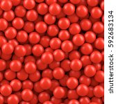 Red Balls Background.