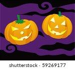 halloween pumpkin | Shutterstock . vector #59269177