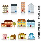 house icon | Shutterstock . vector #59269555