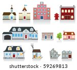 house icon | Shutterstock . vector #59269813