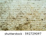 rusty colored metal with... | Shutterstock . vector #592729097
