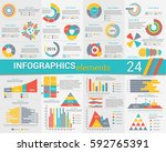 info graphics  elements  big... | Shutterstock .eps vector #592765391