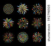 firework different shapes...