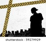 teen urban poster | Shutterstock .eps vector #59279929