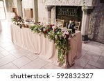Wedding Table Decoration With...