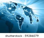 best internet concept of global ... | Shutterstock . vector #59286079