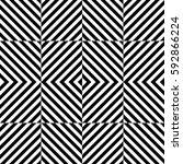 vector seamless pattern.... | Shutterstock .eps vector #592866224