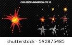vector explode. explode effect...
