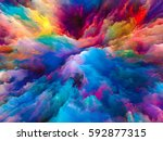 color splash series. backdrop... | Shutterstock . vector #592877315
