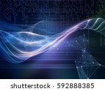information tide series.... | Shutterstock . vector #592888385