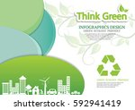 ecology connection  concept... | Shutterstock .eps vector #592941419