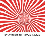 red and white sunburst vector...