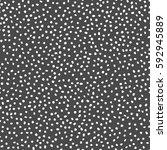white dot pattern on gray... | Shutterstock . vector #592945889