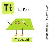 letter t cute children colorful ... | Shutterstock .eps vector #592946624