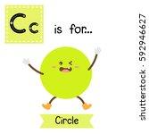 letter c cute children colorful ...   Shutterstock .eps vector #592946627