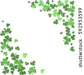 background for st patrick's day ... | Shutterstock . vector #592953599