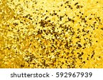 gold sequined background texture   Shutterstock . vector #592967939