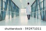 medical physician doctor man...   Shutterstock . vector #592971011