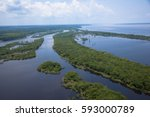 amazon river | Shutterstock . vector #593000789