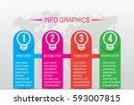 business infographics. timeline ...   Shutterstock .eps vector #593007815