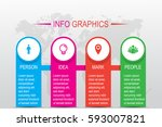 business infographics. timeline ...   Shutterstock .eps vector #593007821